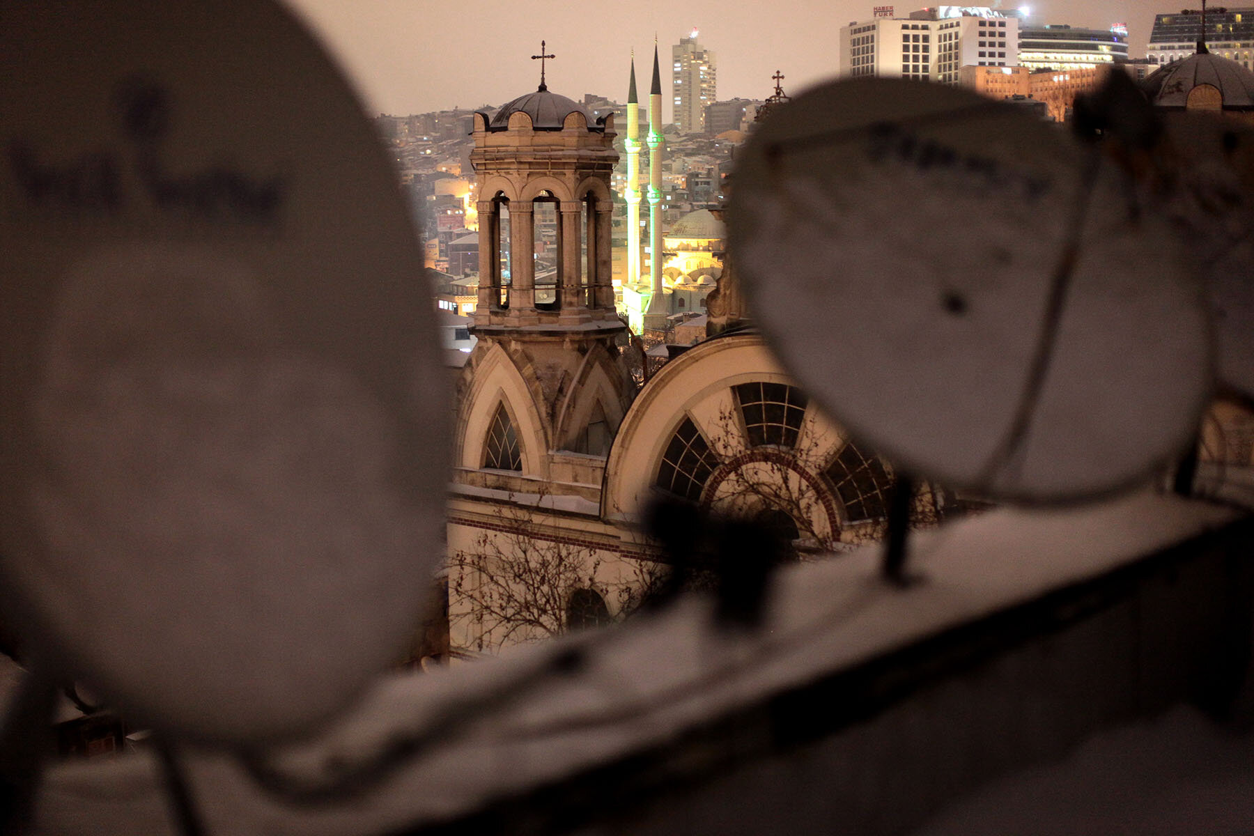 Istanbul is home to multiple religious and cultural communities (Photo courtesy of  Iason Athanasiadis )